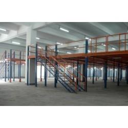 钢结构平台|钢平台|南京货架|货架|重型货架|库房货架