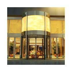 重庆渝北区旋转门供应商知名品牌,岭汇装饰,