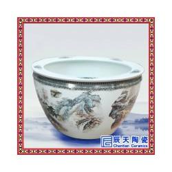陶瓷定制装饰大缸  陶瓷高脚装饰大缸