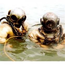 海安市水下探摸公司《蛙人探摸》
