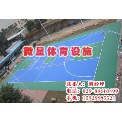 西安微星体育(图)、延安塑胶球场施工、塑胶