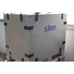 天津优质钢边箱批发 新型实木包装箱青岛有