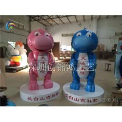 手法细腻的玻璃钢景区入口迎宾雕塑出售|厂