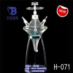 玻璃水烟壶配件价格,天宝玻璃厂,玻璃水烟壶