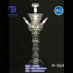玻璃水烟壶|玻璃水烟壶厂家|天宝玻璃厂(优