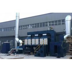 江苏两万风量催化燃烧 技术方案及结构特点