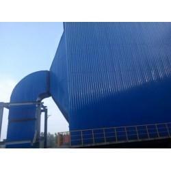 彩钢板设备管道保温 岩棉彩钢板排烟管道保温施工队