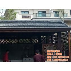 本丰装饰(图)|屋顶防腐木木屋图片|台州防腐