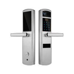 HY1088华鹰光学指纹锁,半自动智能锁,不锈钢指纹锁价格