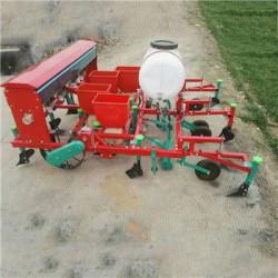 商丘拖拉机带花生覆膜播种机 施肥播种覆膜