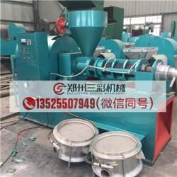郴州棉籽榨油机/小型芝麻榨油机价格低厂家