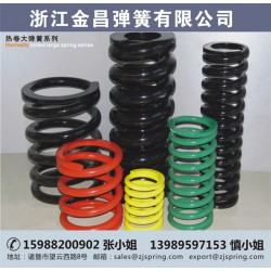 弹簧、金昌弹簧、大型螺旋压缩弹簧
