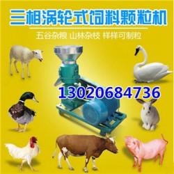 喂鸡用饲料颗粒机  平模饲料颗粒机 家用小