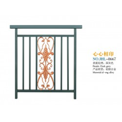 肇庆区域专业的铝镁铸花护栏——楼梯护栏生
