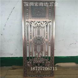 惠州  铝门花铝板浮雕精雕深圳厂家//HED