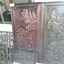 云浮  铝门花铝板浮雕精雕深圳厂家//HED