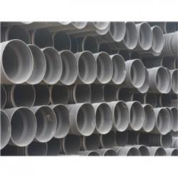 滨州dn600双壁波纹管管件批发