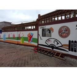寻找中小学彩绘——海口哪家中小学彩绘公司