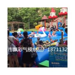 汕尾充气儿童城堡租赁价格佛山充气大型游泳池充气卡通模型