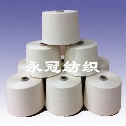 棉60涤纶40配比纱32支紧密赛络纺
