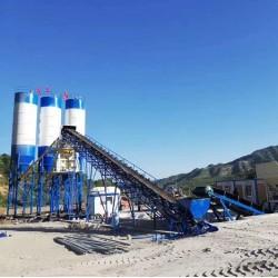 建一套HZS60型混凝土搅拌站使用范围