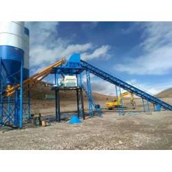 云南地区厂家低价供应HZS90混凝土搅拌站
