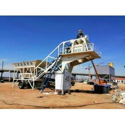 移动式混凝土搅拌站系统功能介绍