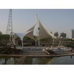 江苏膜结构遮阳棚 张拉膜 艺术景观棚 免费定制设计PVDF
