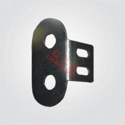 腰圆七字固定卡-红九州护栏配件