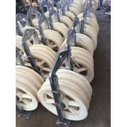 尼龙滑车生产厂家大全 放线滑轮型号报价