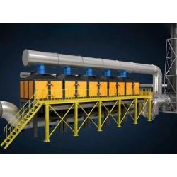 山东活性炭吸附浓缩催化燃烧设备价格 vocs催化燃烧设备厂家