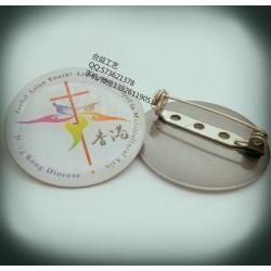 香港印刷徽章、金属印刷襟章、金属印刷徽章定制