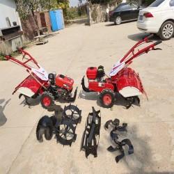 电启动小型家用微耕机 旋耕除草机