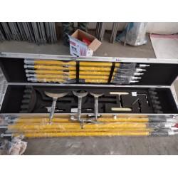 打冰杆  绝缘打冰锤  接触网除冰工具 绝缘高压线路打冰杆
