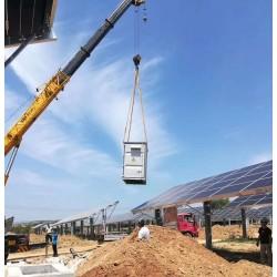 广东晶天太阳能板350W瓦单晶硅大型分散式光伏电站光伏组件