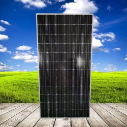 源头厂家晶天太阳能板1000V光伏电站390W瓦太阳能发电板