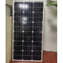 厂家订制晶天光伏组件太阳能路灯发电90W瓦单晶太阳能光伏板
