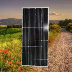 广东晶天太阳能板太阳能广告灯单晶发电板160W瓦太阳能光伏板