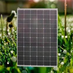 广东晶天太阳能发电板210W瓦72片太阳能蓄电池光伏板