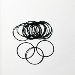 小规格橡胶圈O型圈密封件加工生产深圳丁青O形防水圈圆形