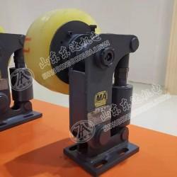 矿山L25型罐笼聚氨酯罐道缓冲轮安装简单
