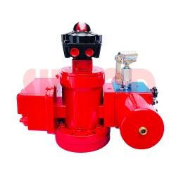 螺旋摆动缸电液执行器供应-上海沃电厂家热销-电液执行机构报价