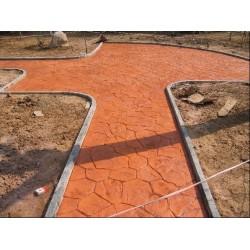 合肥彩色压印地坪材料+施工