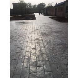 淮北人行道彩色压模地坪
