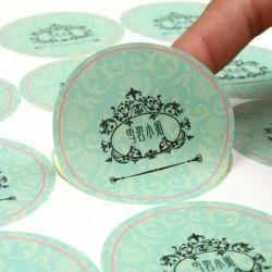 宜昌不干胶标签印刷不干胶贴纸印刷定做卷装标签印刷