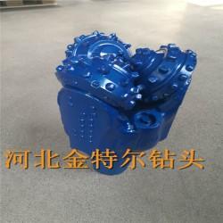 江汉牙轮钻头厂家 9寸半镶齿硬质合金三牙轮钻头