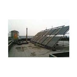 化工厂太阳能热水工程