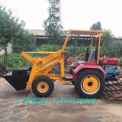 小型电动装载机多功能四驱装卸推土小铲车园林工程用装载机金尊