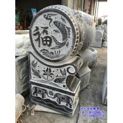 石雕仿古门墩,仿古门墩,80厘米高石门墩(查