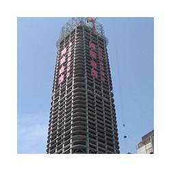 高楼层发光字制作,高楼盘网灯字制作,高楼外墙广告字制作